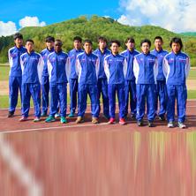 陸上競技部 選手の集合写真