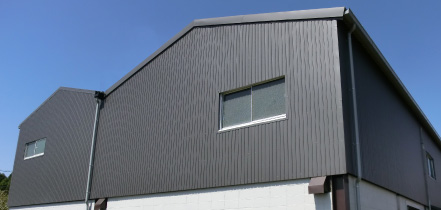 小波スレート改修・サイディング外壁リフォーム ウォール・スライドイン工法 イメージ写真