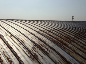 リファイン・カンゴー瓦棒 施工前の写真